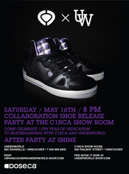 shoe release party