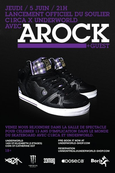 uw circa shoes flyer